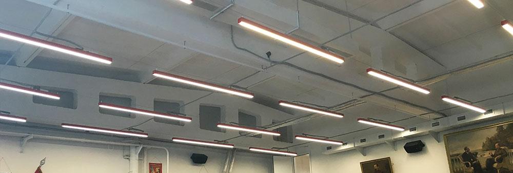 Светодиодный подвесной светильник.
